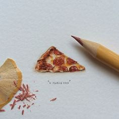 At first Loots drew whatever she felt like. | These Tiny Paintings For Ants Will Make Your Heart Sing