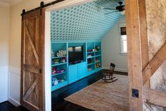 playroom built ins by Shea Bryars Through Twin Interiors