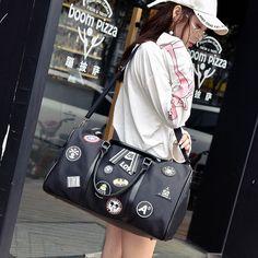 c0cd9b214 Nuevo Hombre de Alta Calidad bolsas de Equipaje Mensajero Bolsa de Hombro  Oxford Tela de Los Hombres Bolsas de Viaje Bolsa de Deporte de Negocios  Bolsos de ...