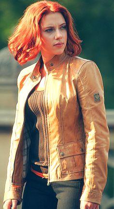Scarlett Johansson ♥ Black Widow Avengers