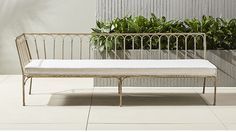 le rêve left arm daybed | CB2