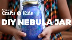DIY Nebula Jar | PBS Parents | Crafts for Kids. Fun and simple everyday crafts for kids and parents made with items you probably already have in your home! P L A Y L I S T | https://www.youtube.com/playlist?list=PLd54oA1MBWfSxzCmHRSjOhRgEo2RlpCD4