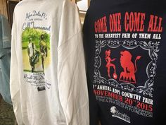 Great tee shirt examples from District I DLC.
