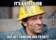Mike Rowe had taken on hundreds of dirty jobs over the years. Check out this image gallery of Mike Rowe, host of Discovery Channel's Dirty Jobs. Mike Rowe, Glenn Beck, Collor, Thing 1, Tough Love, Discovery Channel, Stay At Home, Career Advice, Dumb And Dumber