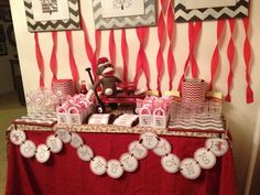 """Photo 1 of 17: Sock Monkey / Baby Shower/Sip & See """"sock monkey baby shower""""   Catch My Party"""