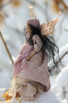 Idun ~ Motherhood Collection ~ by Lavender & Lark ~ faerie doll