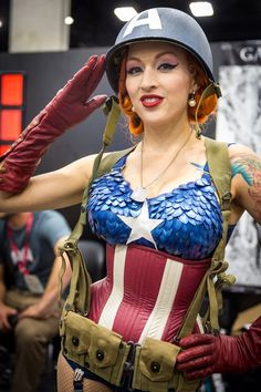 Captain America Cosplay - #SDCC San Diego Comic-Con 2014