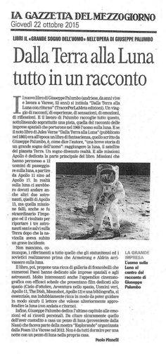Dalla Terra alla Luna di Giuseppe Palumbo su La Gazzetta del Mezzogiorno