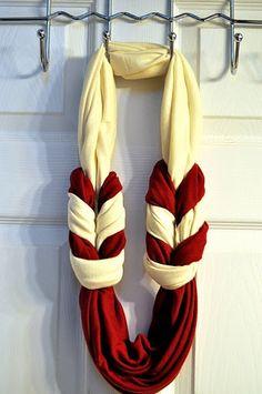 DIY braided scarf :)