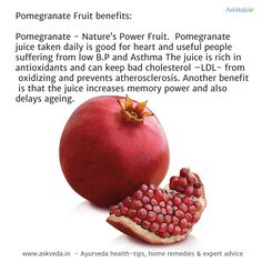 Pomegranate – Nature's Power Fruit