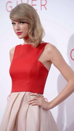 Taylor Swift The Giver Premiere