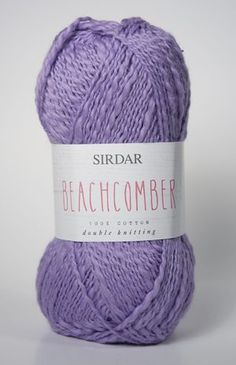 SIRDAR Beachcomber 100% cotton dk available at www.ariverofyarn.ca