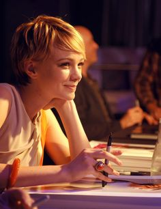 Carey Mulligan, please can I have your face and hair and talent and husband and...