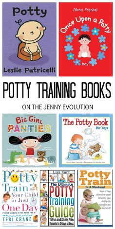 Reading children's potty training books with your toddler can help with potty training. And don't miss these potty training books for parents! Potty Training Books, Potty Training Girls, Toilet Training, Training Tips, Toddler Books, Toddler Fun, Toddler Preschool, Toddler Activities, Baby Books