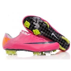 reputable site bdf99 af334 Chaussure de foot Nike Mercurial Vapor Superfly III FG Rose Argent http:// football