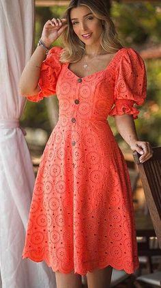 Elegant Outfit, Elegant Dresses, Pretty Dresses, Beautiful Dresses, Casual Dresses, Short Dresses, Fashion Dresses, Casual Frocks, Frock For Women