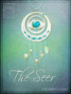 Amulet - The Seer by Rittik.deviantart.com on @DeviantArt