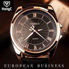 7.48$  Buy now - http://alitmo.shopchina.info/go.php?t=32794589256 - HongC Wrist Watch Men 2017 Top Brand Luxury Famous Wristwatch Male Clock Quartz Watch Hodinky Quartz-watch Relogio Masculino 7.48$ #magazineonline
