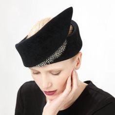 Jane Taylor Millinery AW 2014 Spar- Casual Felt Headband
