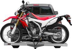 400 lb Hitch Mounted Motorcycle Dirt Bike Carrier Hauling Trailer Rack AMC 400   eBay