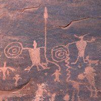 Petroglyphs & Dinosaur Tracks-Potash-Lower Colorado River Scenic Byway (U-279)