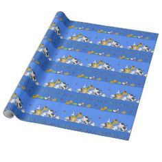 Glossy Wrapping Paper with Cow Wrapping Paper design