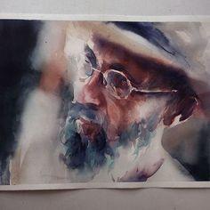 Sexta-feira, #aquarela #watercolor 33x44 cm.
