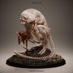 Monster Concept Art, Alien Concept Art, Fantasy Monster, Monster Art, Dark Creatures, Alien Creatures, Fantasy Creatures, Aliens, Sience Fiction