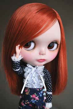 Elmira ❥ Blythe by tinkerina   ~ Hello!