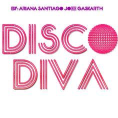 Font Disco diva by JoeeGaskarth