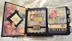 Dawna's Place: Romantic Parisian Inspired Envelope Mini Album