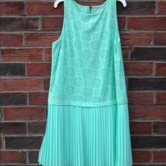Selling this Turquoise dress! in my Poshmark closet! My username is: haileybracey. #shopmycloset #poshmark #fashion #shopping #style #forsale #LOFT #Dresses