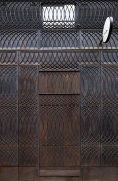 metal facade paul smith, 6a architects