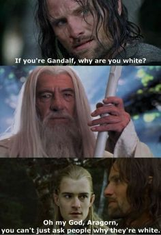 Haha Mean Girls and the Lord of the Rings