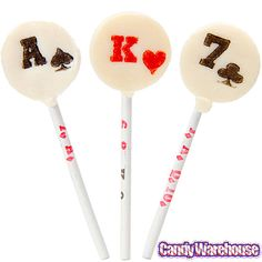 Poker Pops Lollipops: 175-Piece Tub