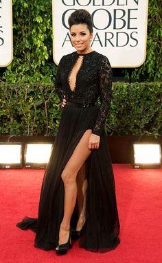 Eva Longoria in Emilio Pucci - 2013 Golden Globes