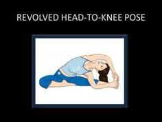 Revolved Head –To – Knee Pose