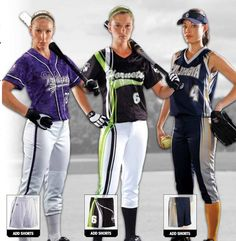 Softball Uniforms - Custom Proshere Softball Uniforms