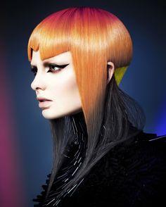 Wella Professionals TrendVision 2015 Australia and New Zealand Gold Winner #wella #trendvision #rokkebony #moha #hairdressing #colorhair #haircolor #колорирование #стрижки - Chung-yang Su – Rokk Ebony