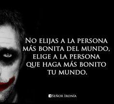 Mejores 110 Imagenes De Joker Frases En Pinterest Words Spanish