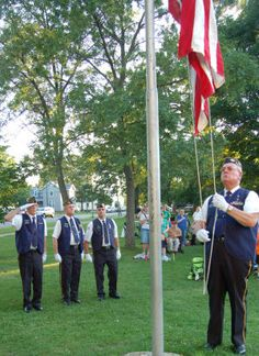 The Grand Salute | Volunteers vow to bring honor to veterans : Dunn County News