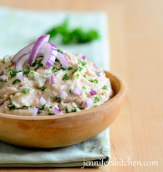 White Bean Garlic Dip