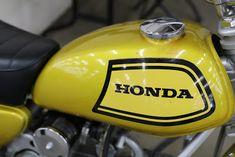 OldMotoDude: 1972 Honda SL70 on display at the 2018 Denver Motorcycle Expo
