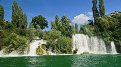 Waterfall in Croatia. by travel_with_luxury. river #instatraveling #nature #waterfall #water #beautiful #travelingram #traveling #luxury #mytravelgram #travel #europe #travelgram #instadream #picoftheday #instatravel #forest #tree #croatia #landscape