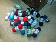 Hobby Lobby yarn trip - I Love This Yarn