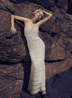 Вязаные платья Ванессы Монторо