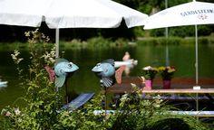 Riessersee, Blick vom Strandbad am See, Garmisch-Partenkirchen, Bayern - http://www.riessersee.com/