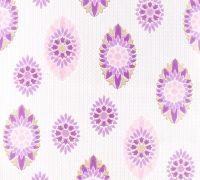 Purple retro wallpaper as seen on retrovilla.dk