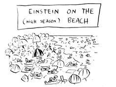 """Résultat de recherche d'images pour """"Pablo Helguera - Einstein on the (high season) beach"""""""
