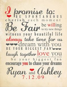 Wedding Vows Ideas Picture